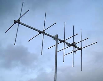 XYG5 2 2 Metre 5 Element Crossed Yagi 144 146 VHF
