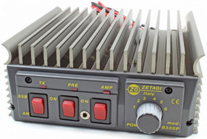 Zetagi B300P 20 30 MHz 400w PEP Mobile Amplifier b 300 p Burner