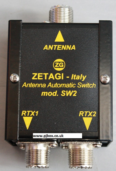 Zetagi SW2 CB Ham Automatic Antenna Switch