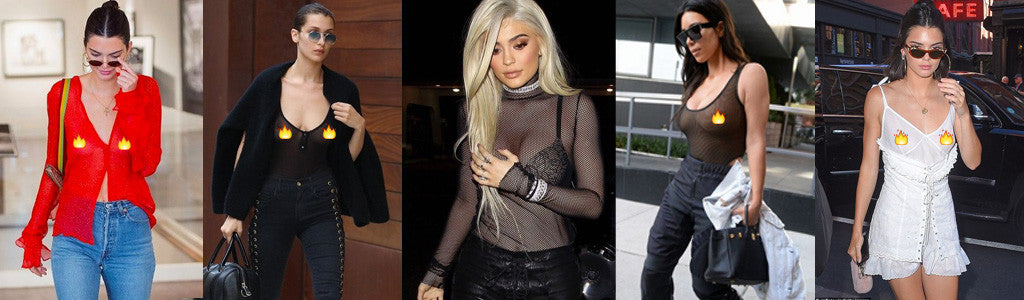 celebrity style in mesh