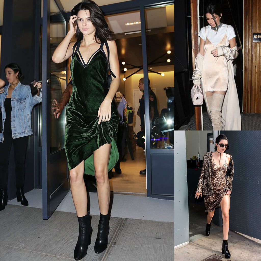 kendall jenner - slip dress