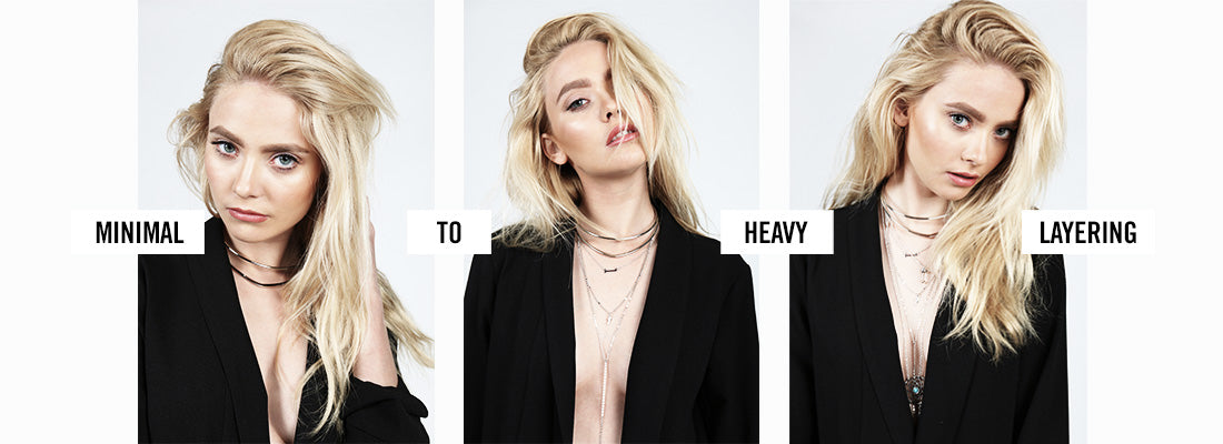 New Necklaces: Minimal to Heavy Layering | 2020AVE