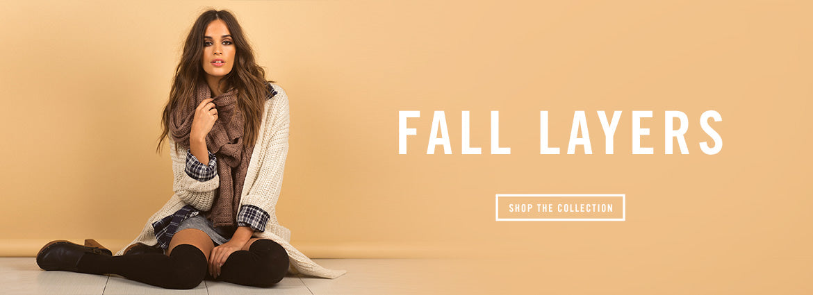 Fall Layers Lookbook and Collection | 2020AVE