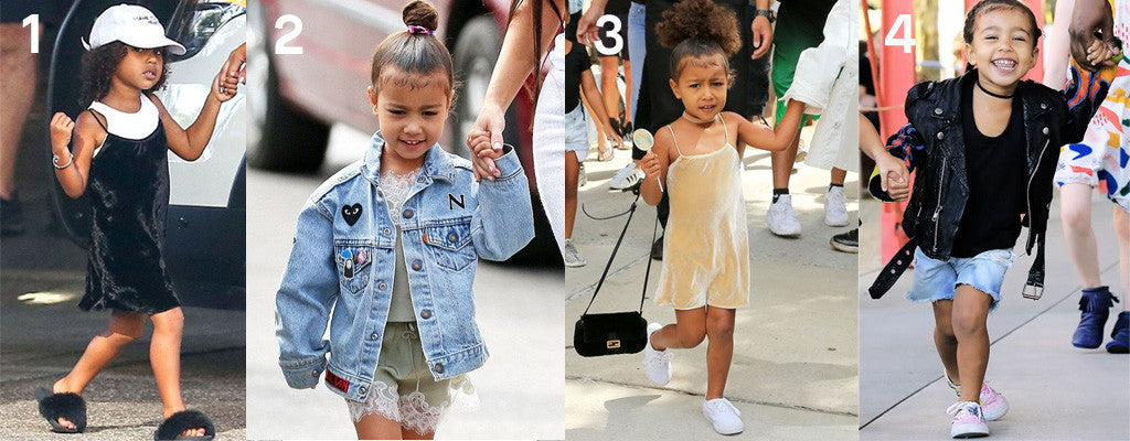 North West outfits