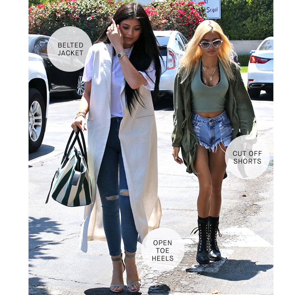 Kylie Jenner and Pia Mia Off Duty