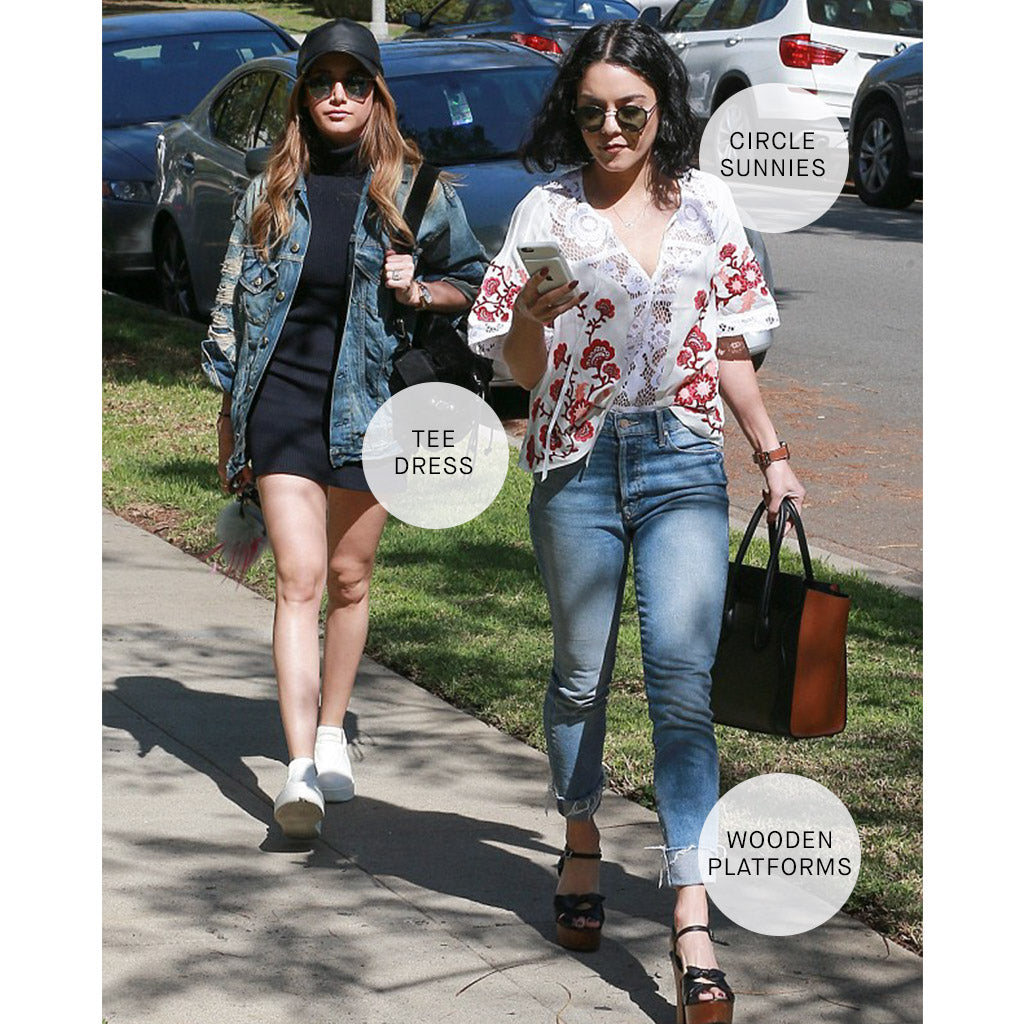 Ashley Tisdale and Vanessa Hudgens in Denim
