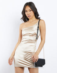 Lights Camera Action Satin Dress