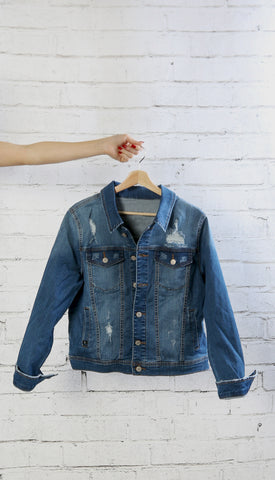 Plus Size Dreamy Denim Jacket