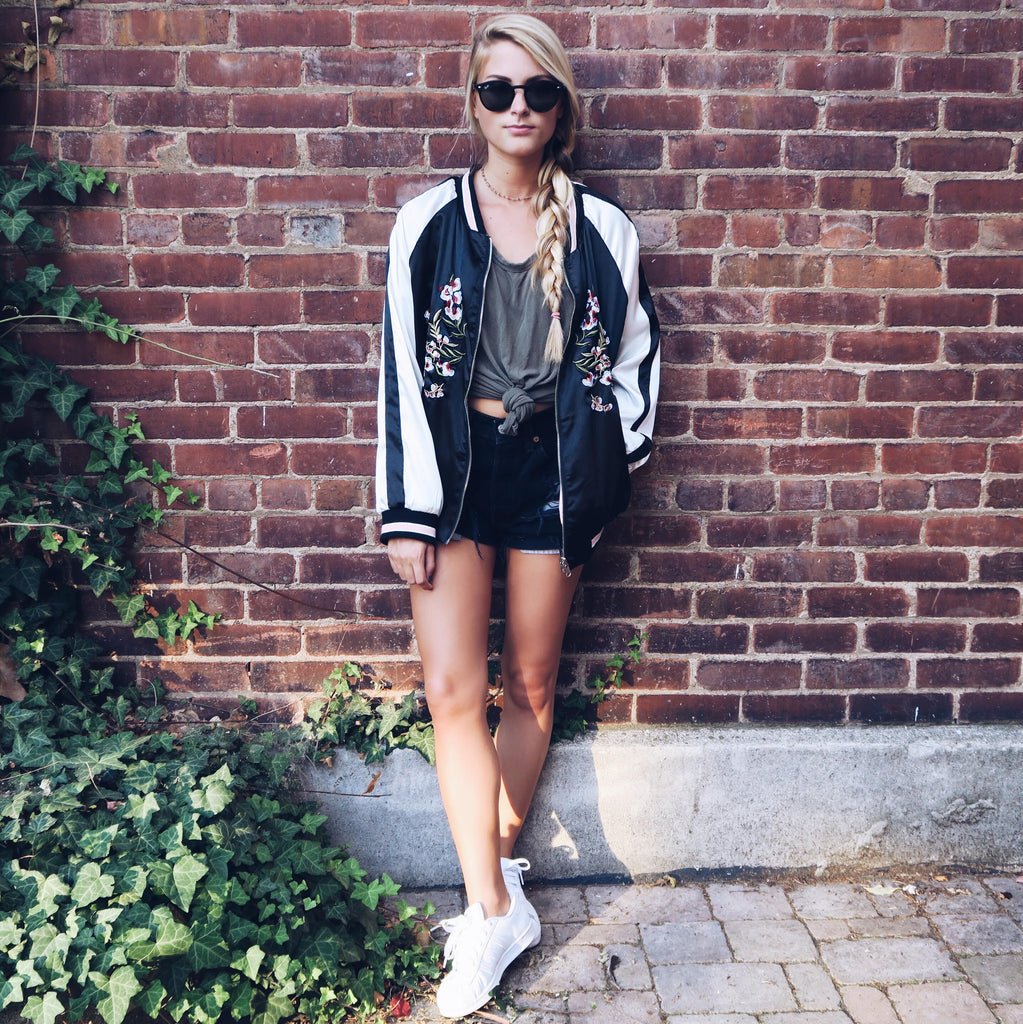 Fiercely Tasha in Bomber Jacket