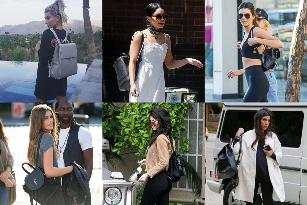 Backpack Celebrity Style Inspiration