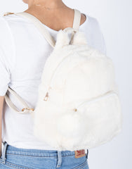 Furry Friend Mini Backpack