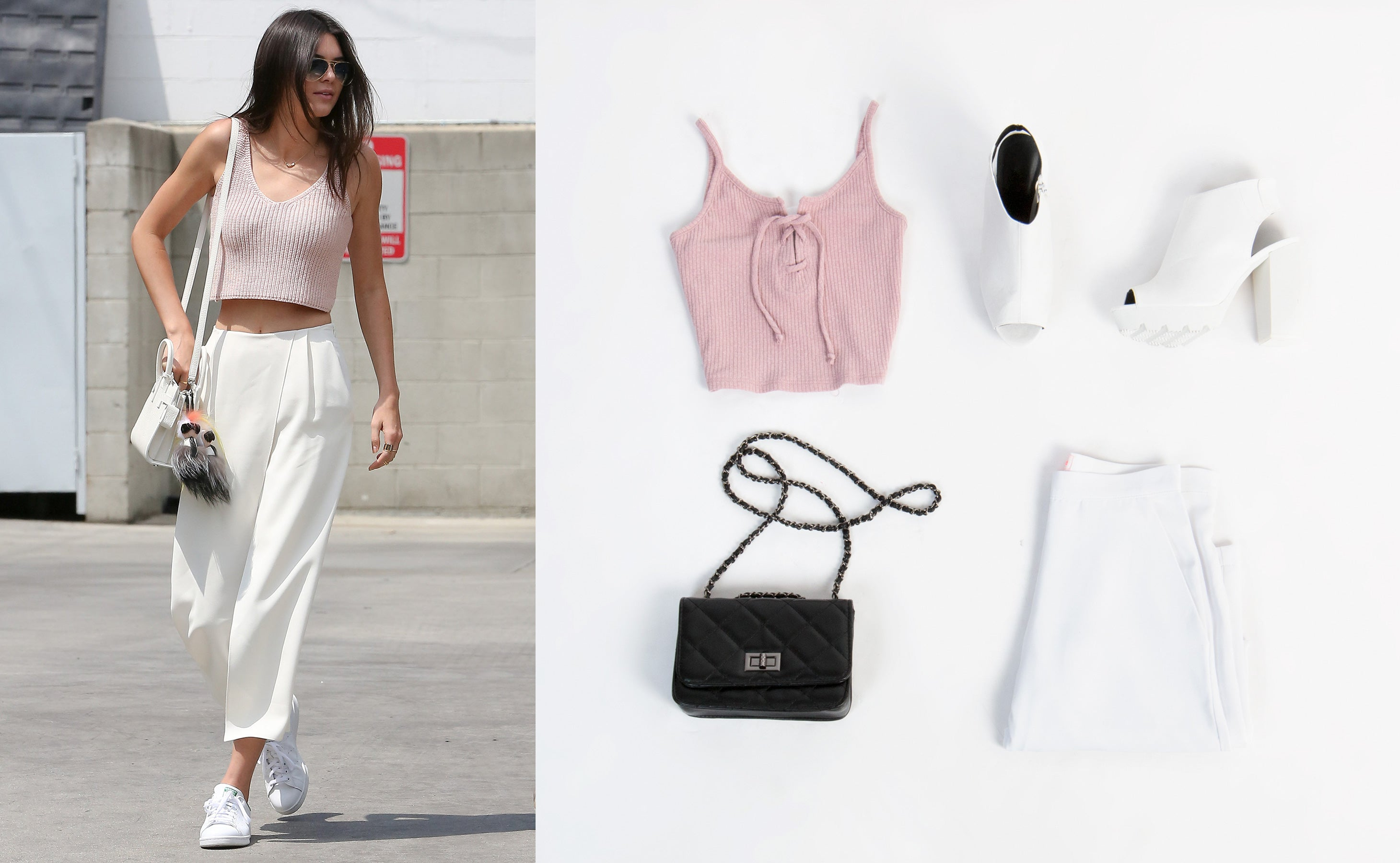 Kendall Jenner Street Style Outfit: Valentine's Day Date Night Look