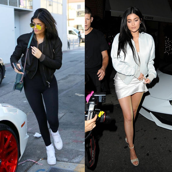 Kylie Jenner in Bomber Jacket
