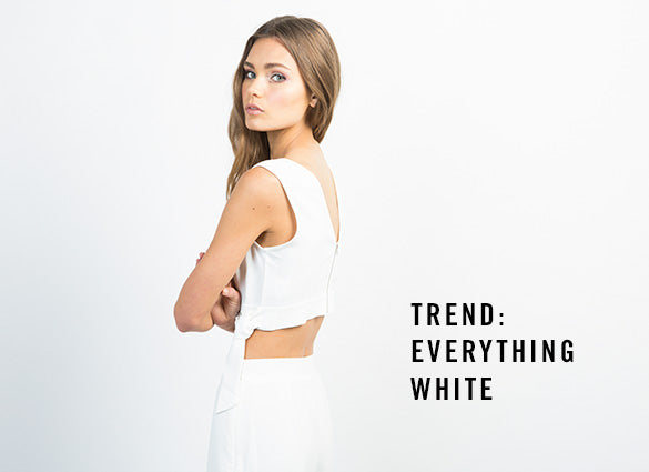 Trend: Everything White | 2020AVE
