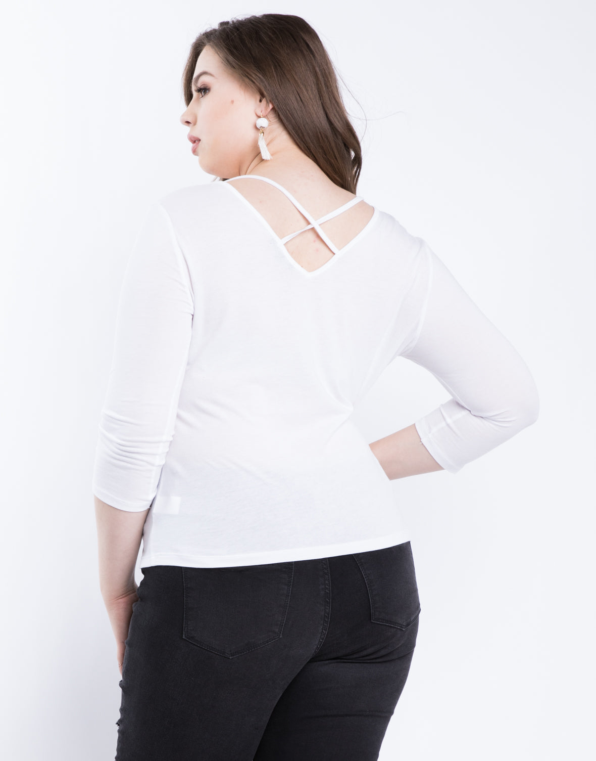 Plus Size Anna Basic Top