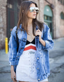 Fashion Tour Denim Jacket - 2020AVE