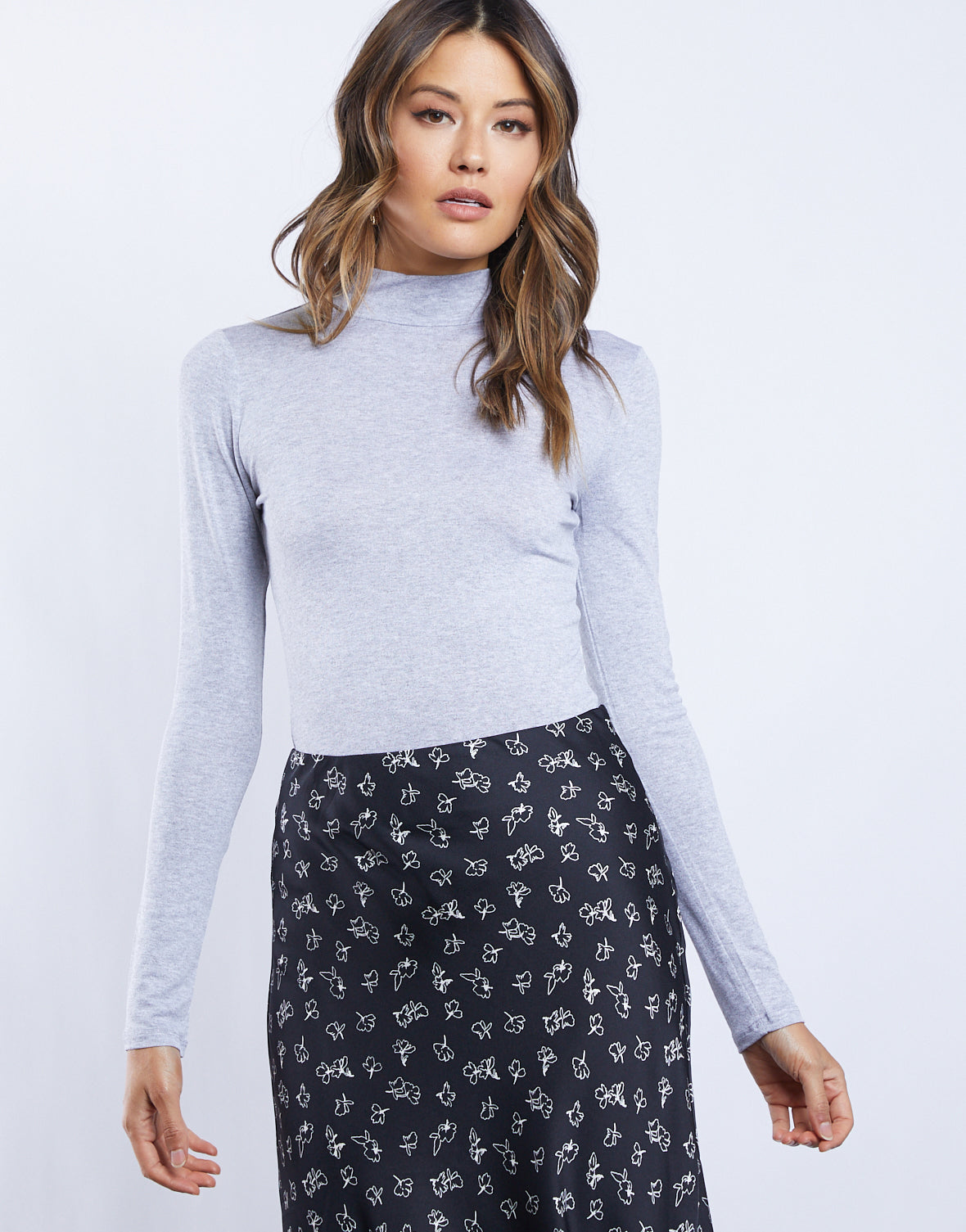 Bella Mock Neck Top