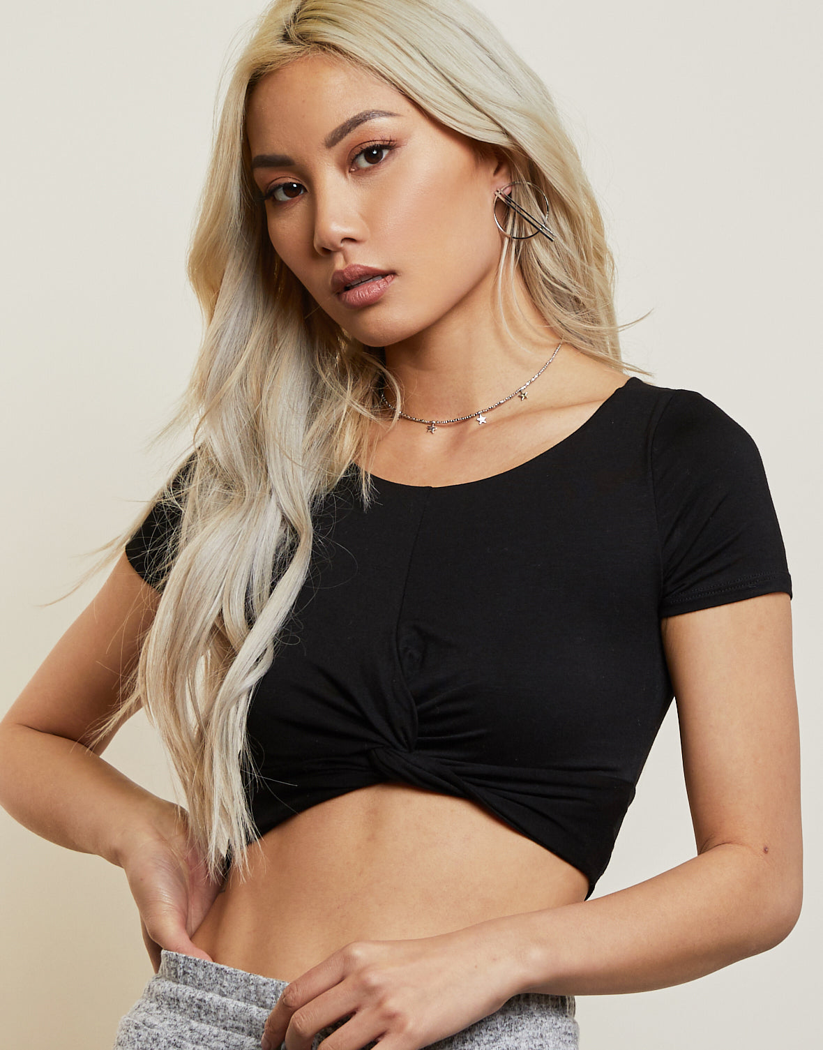 Faith Intertwined Cropped Top