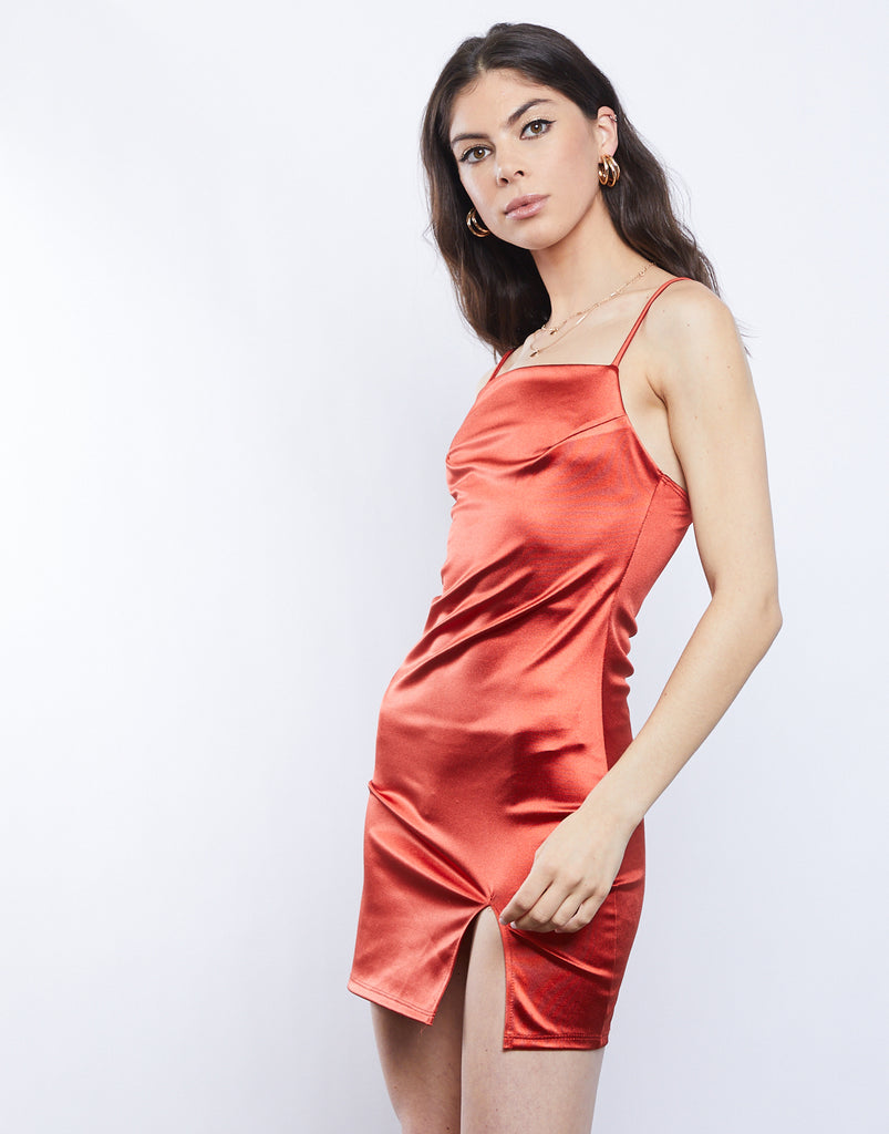 After Hours Silky Mini Dress Dresses -2020AVE