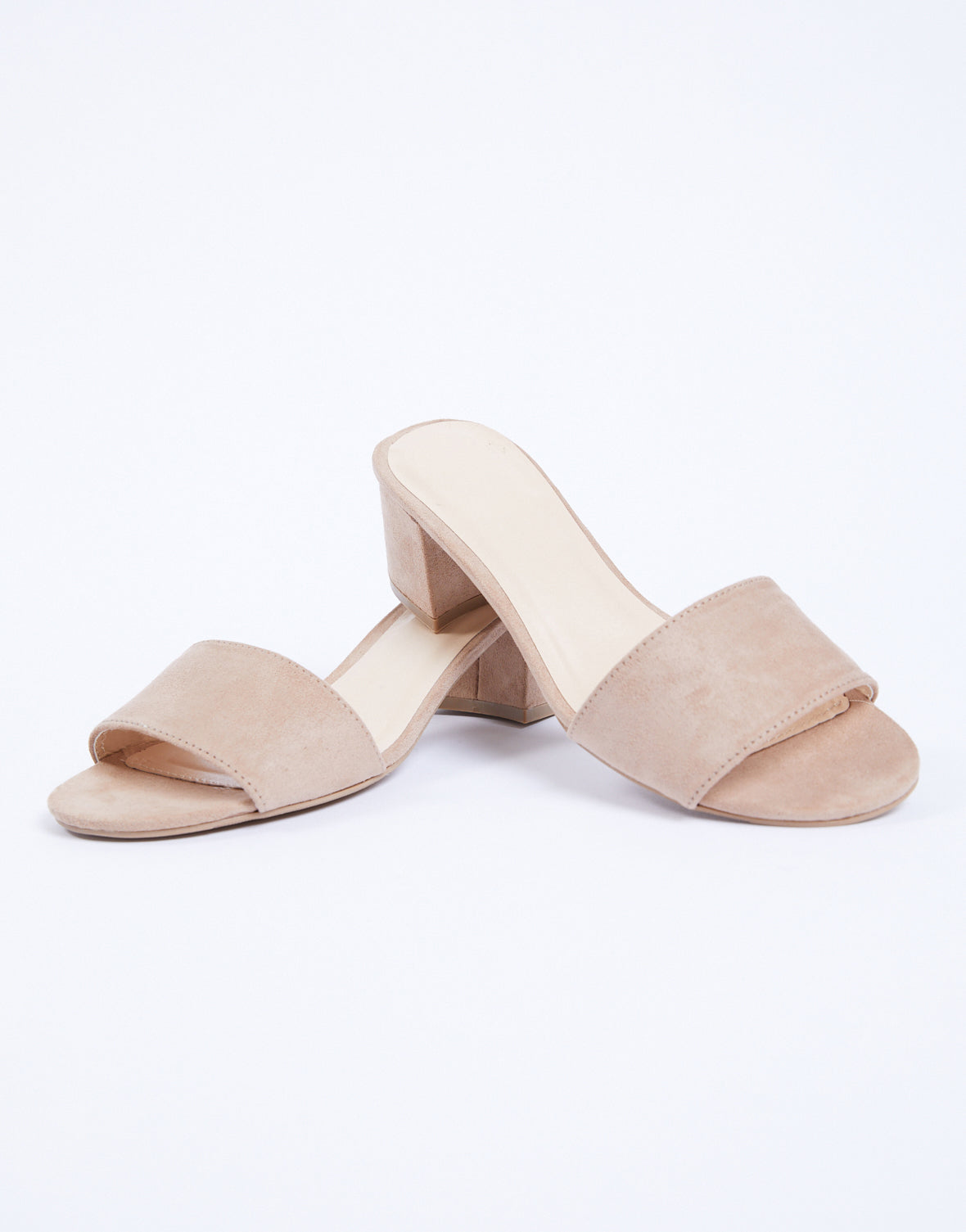 Alessia Simple Mule Sandals