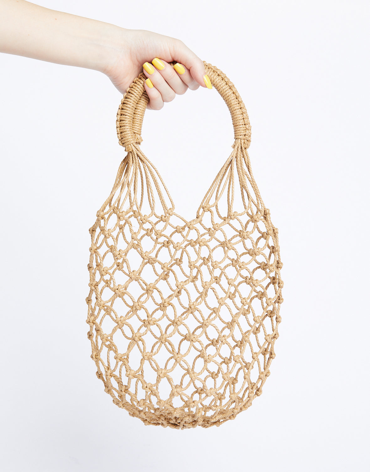 All Caught Up Woven Net Bag