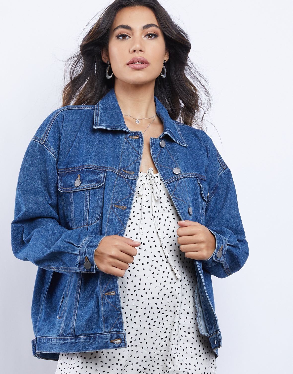 All In Oversized Denim Jacket