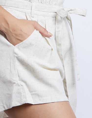 All The Feel Paper Bag Shorts