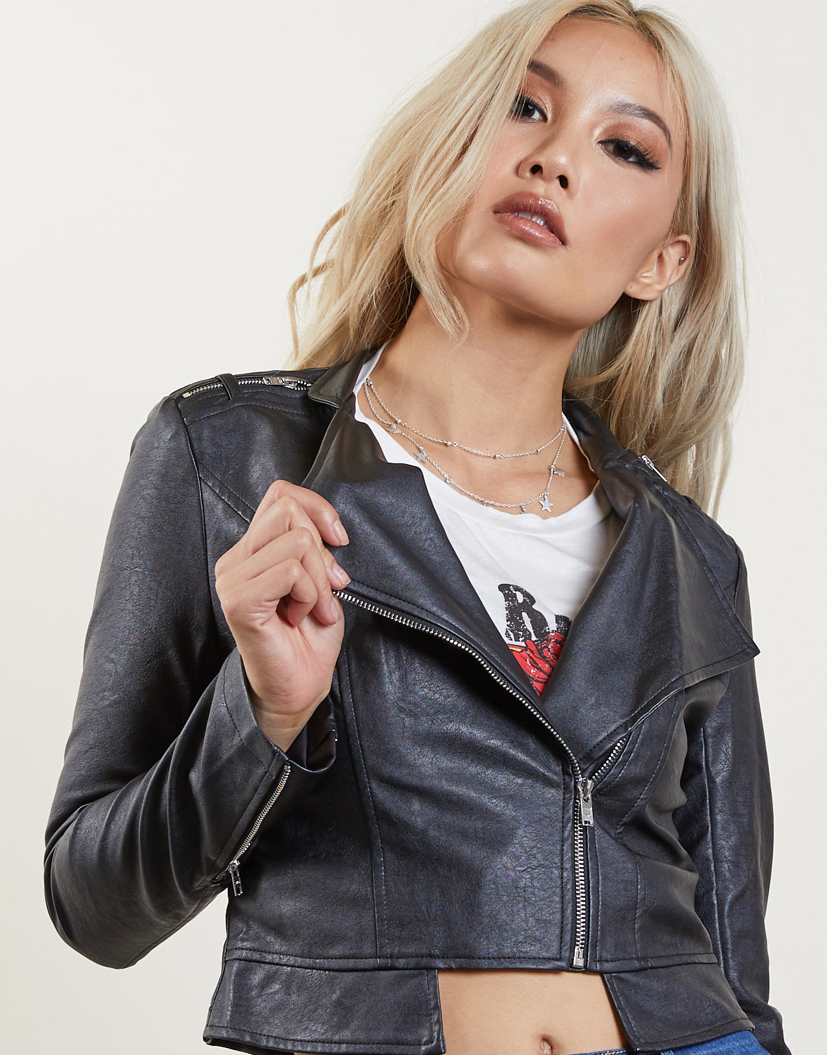 Along For The Ride Leather Jacket