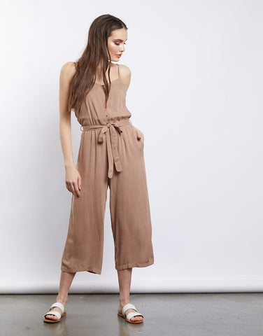 Amora Wide-Leg Jumpsuit