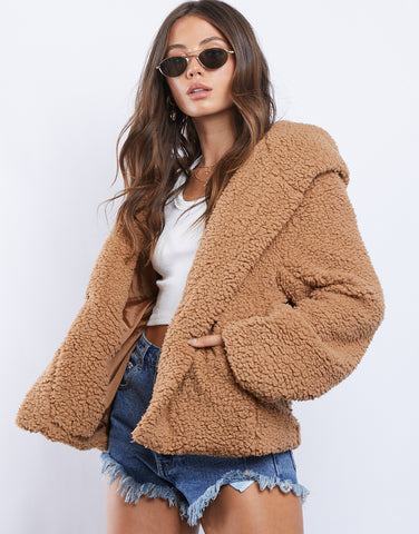 Anastasia Fluffy Coat