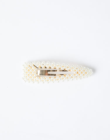 Annie Oversized Pearl Clip