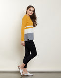 Aria Colorblock Sweater
