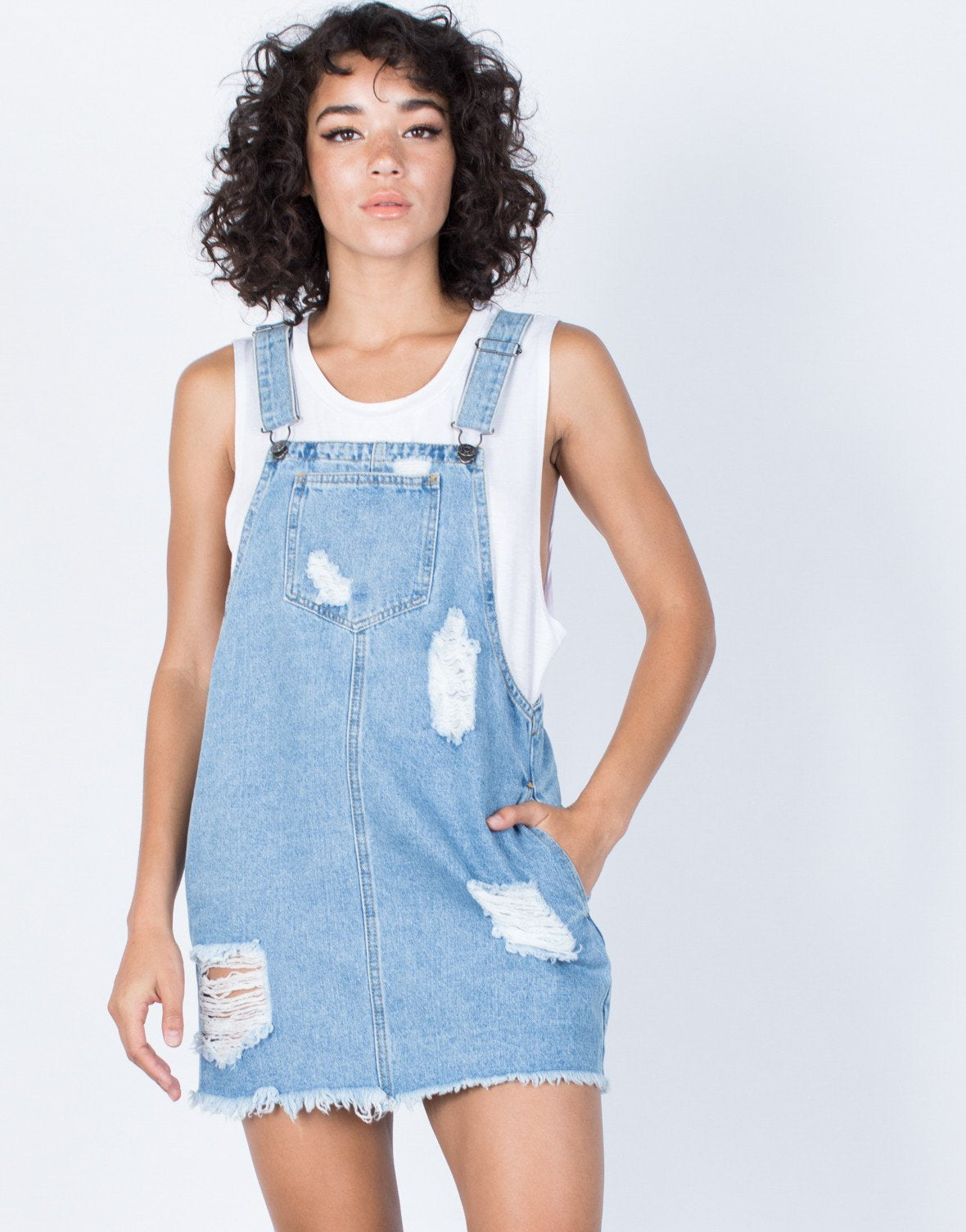 Bailey Denim Overall Dress