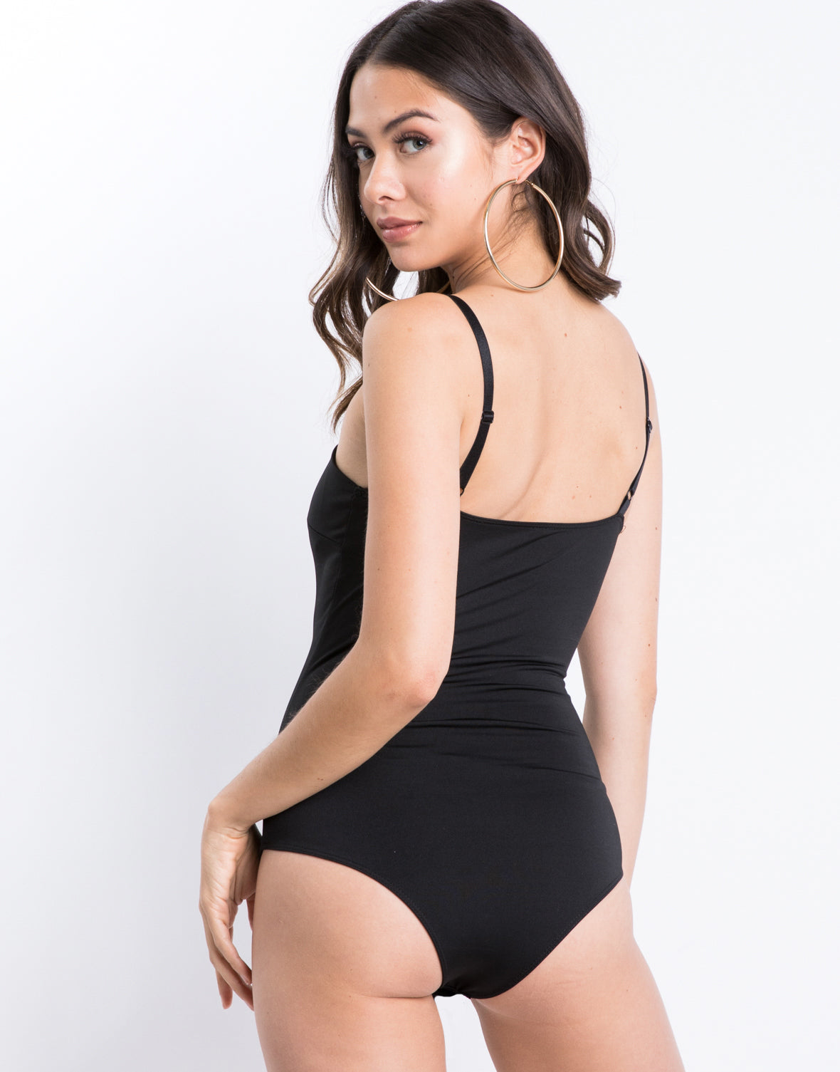 Basic Black Bodysuit