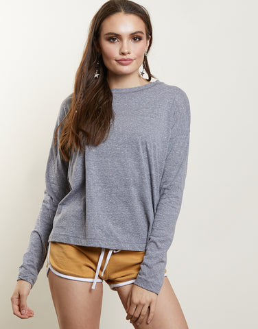 Be Basic Long Sleeve Top