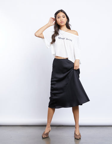 Be Bold Midi Skirt