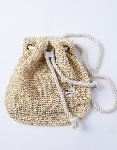 Beach Bum Woven Backpack