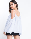 Bella Sleeve Flowy Top