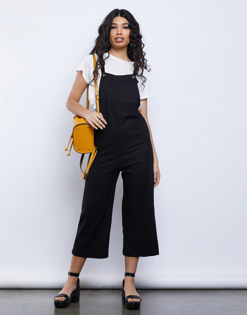 Blank Canvas Overall Jumpsuit Rompers + Jumpsuits -2020AVE