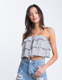 Boho Nights Tube Top