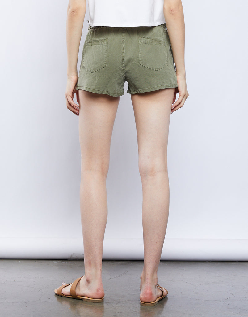 Breezy Drawstring Shorts Bottoms -2020AVE