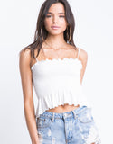 Brielle Ruffled Crop Top