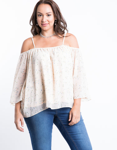Plus Size Morning Blossoms Top