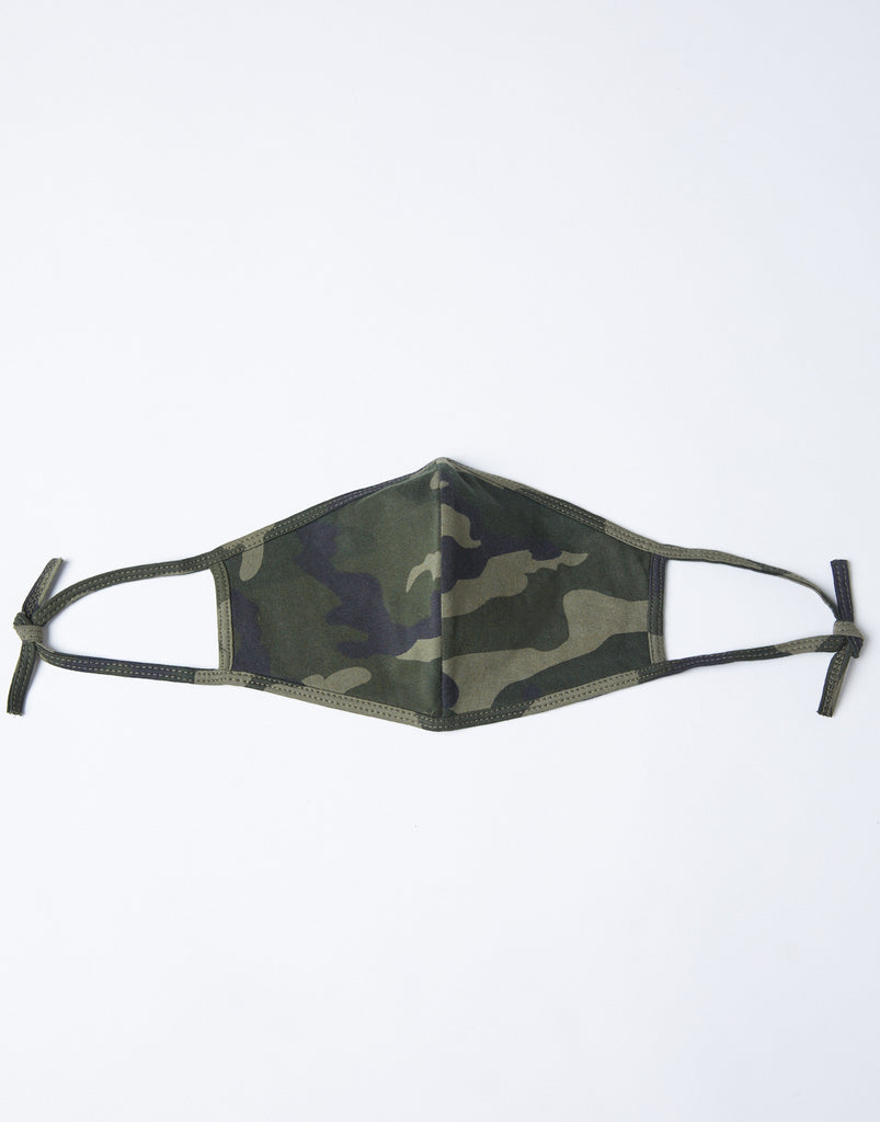 Camo Face Mask Accessories Camo One Size -2020AVE