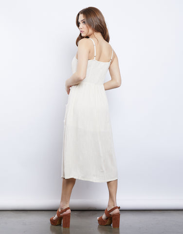 Canvas Full-Length Dress
