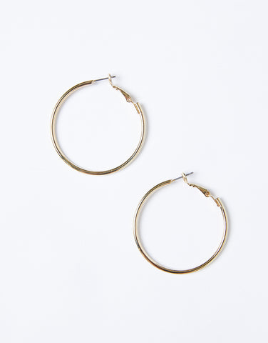 Carrie Medium Sized Hoops