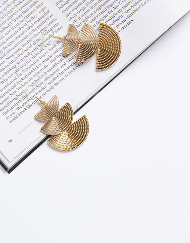Cascading Fan Earrings