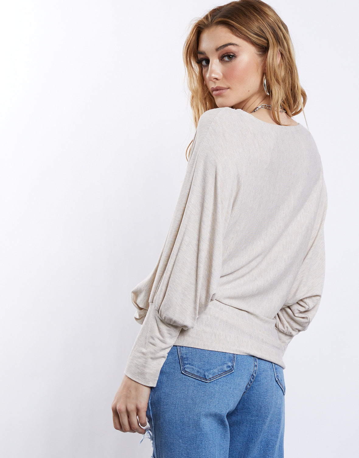 Casual Oversized Dolman Top