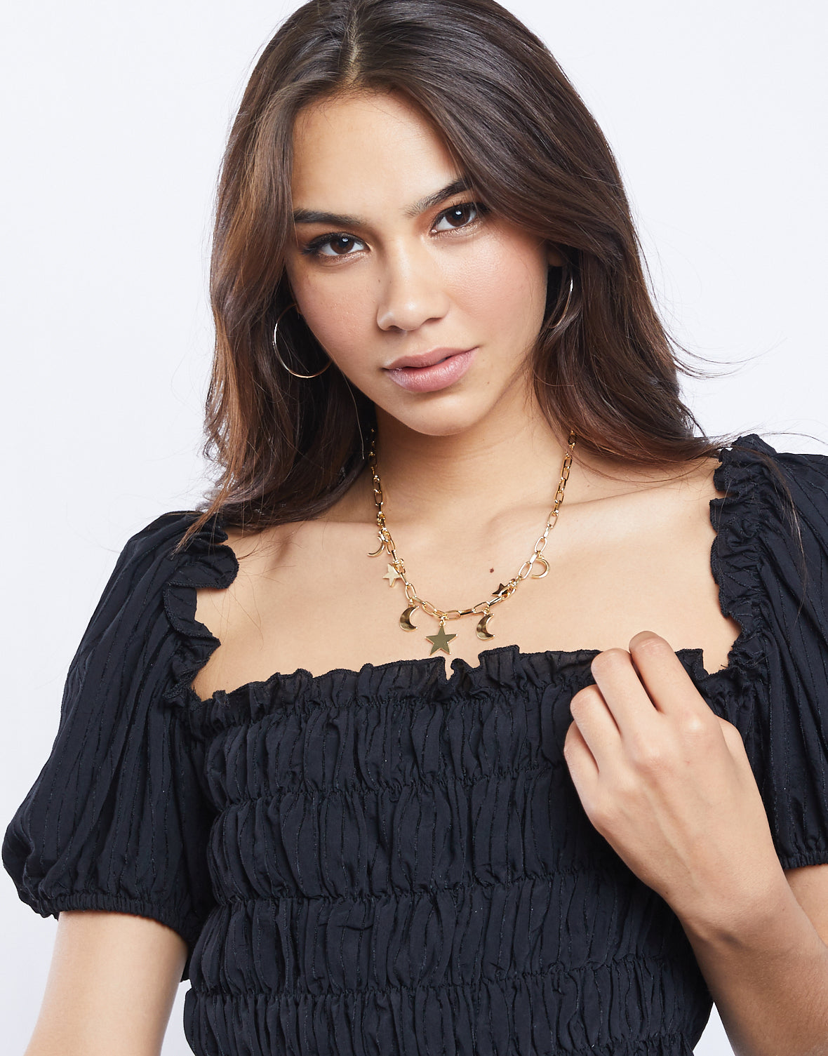 Celeste Chain and Charms Necklace