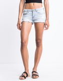 Checkmate Denim Shorts